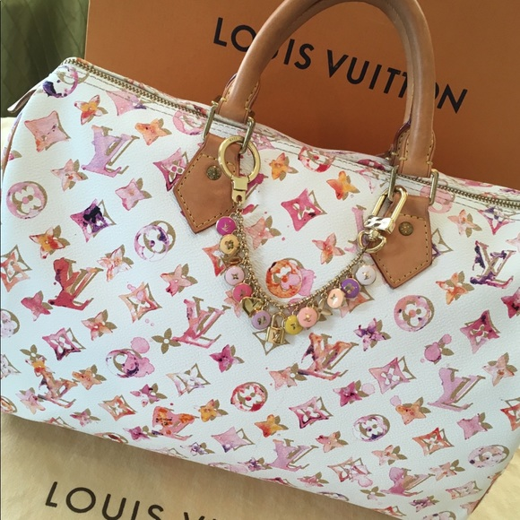 950fb1828b34 Louis Vuitton Handbags - Authentic Rare Louis Vuitton Watercolor Speedy 35